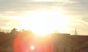Sunset by God; photograph by Katelyn Skye Bennett