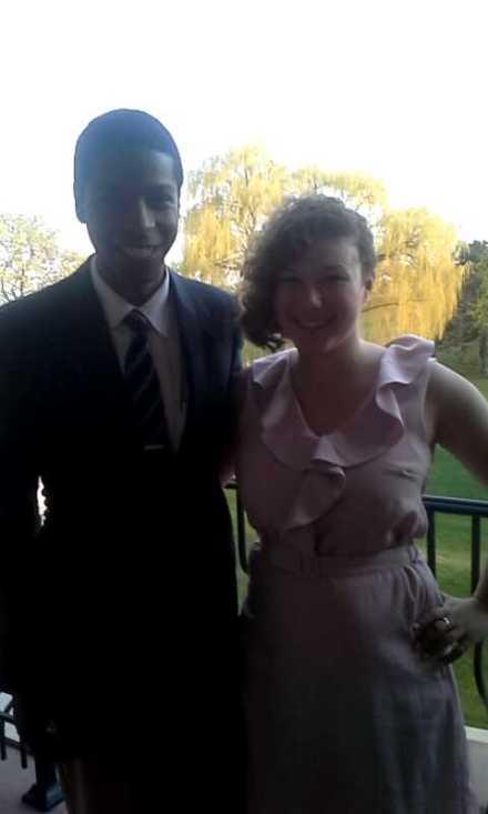 Josh and I