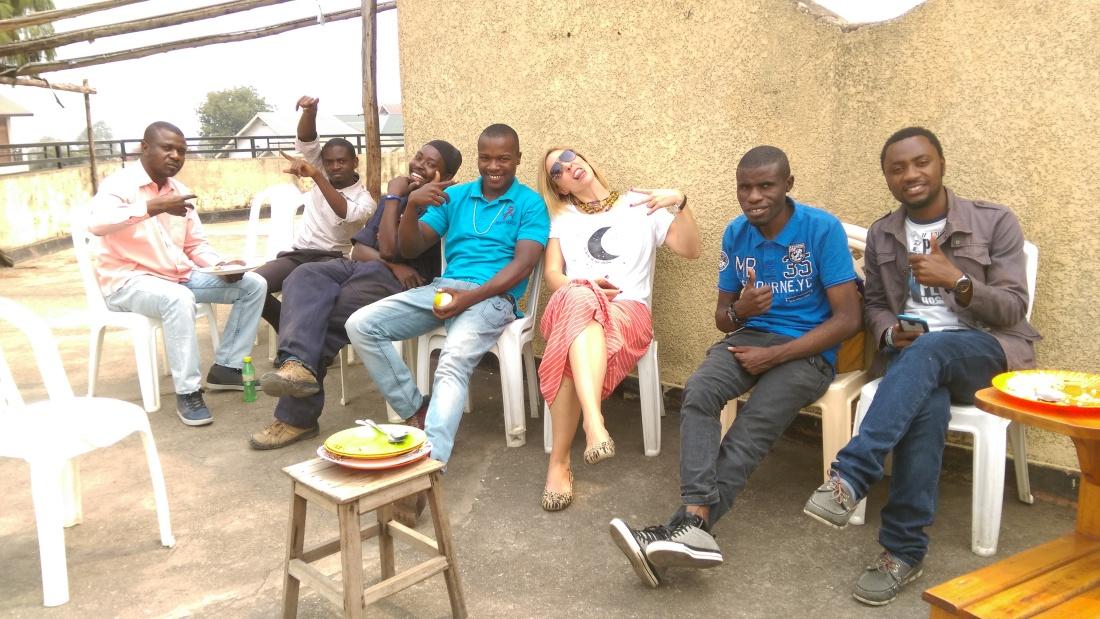 UJN lunch squad, 2016. PC: KSB