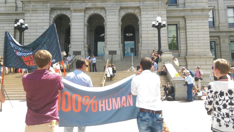 Taken at #WRD2017 at the Denver capitol. PC: Katelyn Skye Bennett