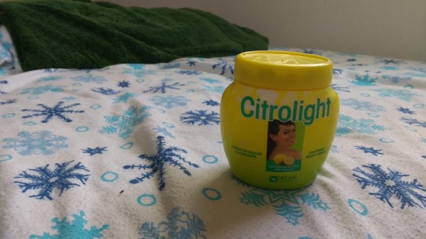 My roommate's lightening cream. PC: Katelyn Skye Bennett