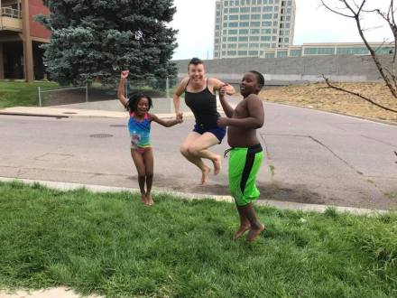 These kids brought me so much joy. This pool day was especially fun. Photo belongs to KSB.