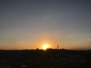 Waithaka sunset PC: KSB